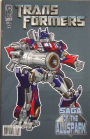 Transformers Saga Of The Allspark #1 Cover B (2008) IDW Publishing comic book